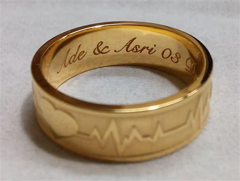 Cincin Kawin Nikah Palladium Item 54 cincin nikah