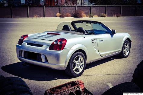 toyota mr2 2003 toyota mr2 spyder review rnr automotive blog