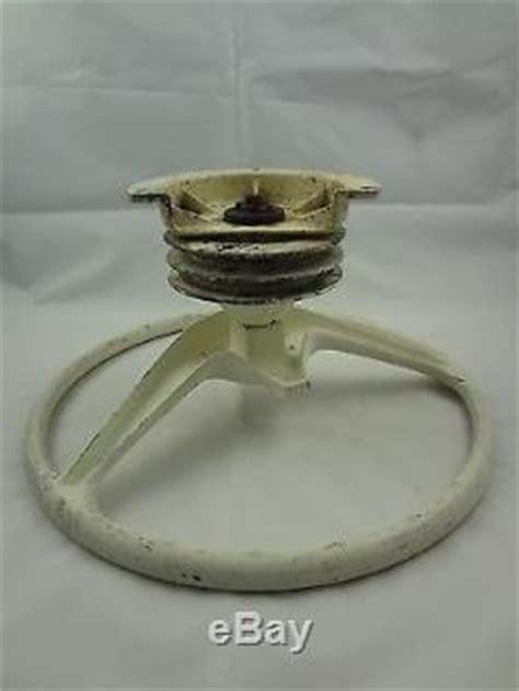vintage quicksilver boat steering wheel with mount aluminum 15 - Quicksilver Boat Steering Wheel