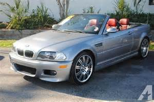 2005 Bmw M3 For Sale 2005 Bmw 3 Series M3 2dr Convertible For Sale In
