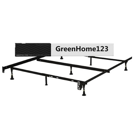 metal size bed frame size metal bed frame with glides and headboard
