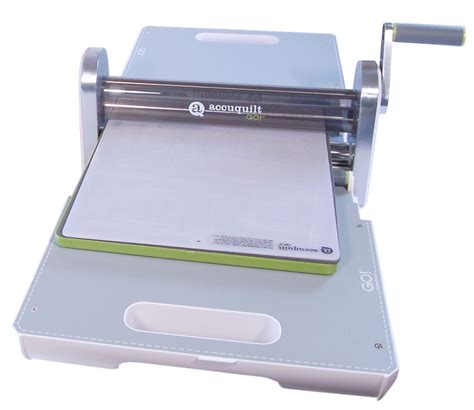 Fabric Cutter by Accuquilt Go Fabric Cutter W Free Die 55100 3