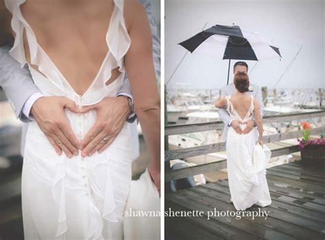 Rainy Beach Wedding Inspiration Ideas   Plymouth, MA