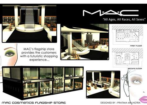 store layout design ppt pratima s mac cosmetics flagship store presentation