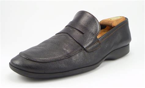 louis vuitton slippers mens louis vuitton mens shoes 11 us leather loafer black