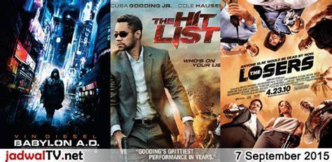 film adipati dolken kevin julio jadwal film dan sepakbola 7 september 2015 jadwal tv