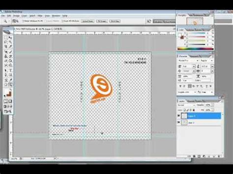 how to make a brochure in photoshop youtube