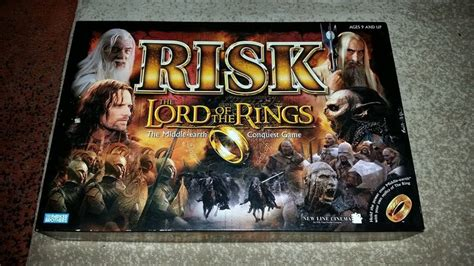 game night risk the lord of the rings the middle earth