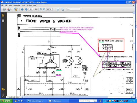 3 wire wiper motor wiring diagram get free image about