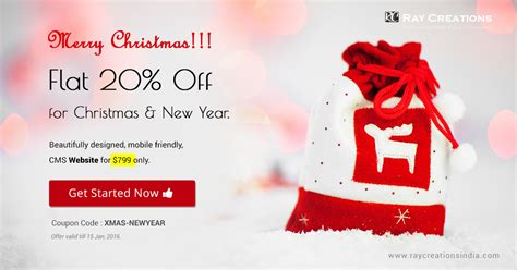 new year promotion banner discount web design discount website design creations