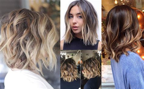 hairstyles colours 2017 balayage hair 2017