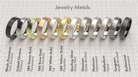 metals for jewelry jewelry metals thea render