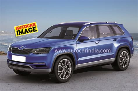 New Skoda seven seat SUV to be called Kodiak   Car News