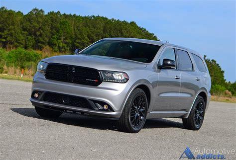 jeep durango 2016 2016 dodge durango r t blacktop rwd review test drive