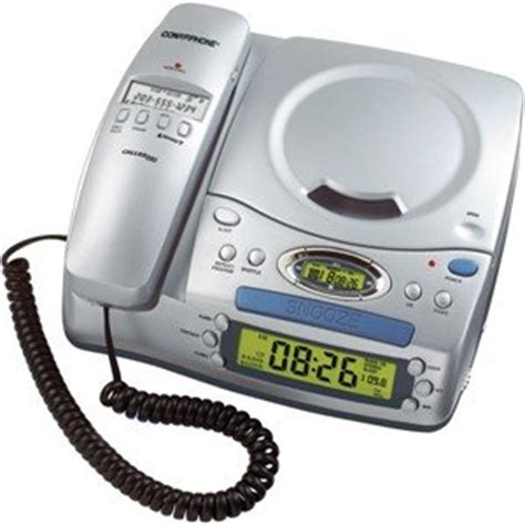 call back number no caller id conairphone corded telephone with cd player and clock
