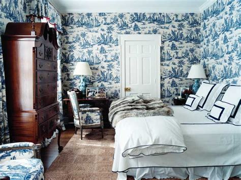 toile wallpaper bedroom toile de jouy and a winner home appliances