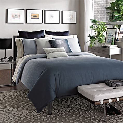 kenneth cole reaction comforter set kenneth cole reaction home hotel comforter in ink bed