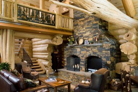 Small Log Cabin Plans With Loft by Mark Austin Homes 187 Blog Archiv 187 Log Cabin Interiors