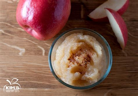 easy homemade applesauce kim s healthy eats