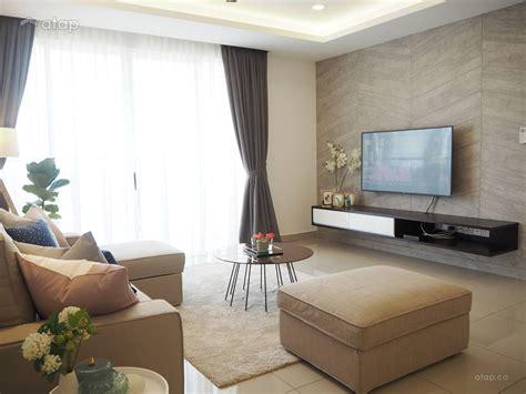 contemporary minimalistic living room condominium design