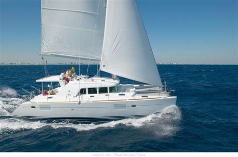 catamaran lagoon yacht charter with a lagoon 440 the king of the