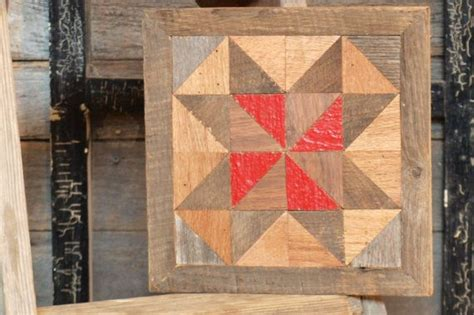 Wooden Barn Quilts by Wooden Barn Quilt Block Reclaimed Wood Quilt Block