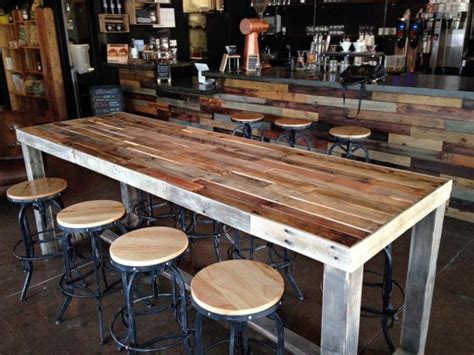 Diy Breakfast Bar Table 25 Best Ideas About Bar On Table Industrial Sectional