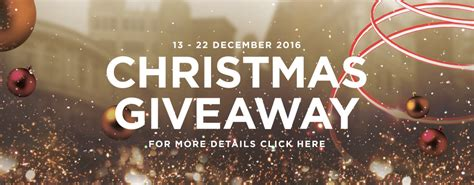Christmas Giveaways For Customers - sogo christmas giveaway 13 22 december 2016