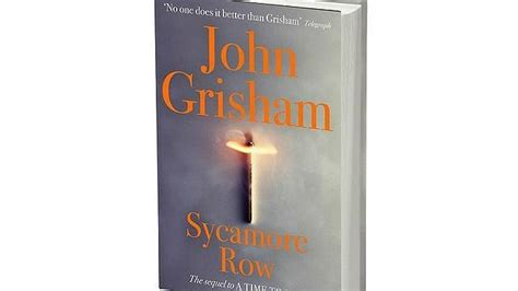 libro sycamore row as 237 es la portada del nuevo libro de john grisham