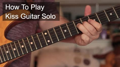 Kiss Prince Tutorial | kiss prince guitar tutorial youtube