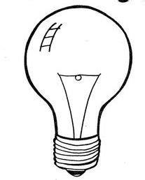 M&225s De 1000 Im&225genes Sobre Broken Bulb Foco Roto Bombillo En  sketch template