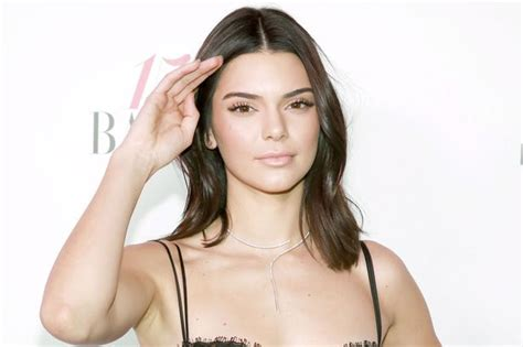 female celebrities with red pubic hair kendall jenner red kendall jenner fans mistake fringe on underwear for pubic