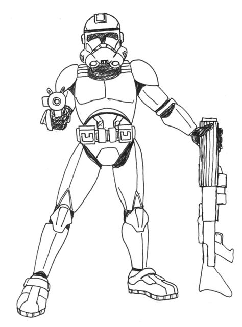old republic commando coloring pages pictures to pin on