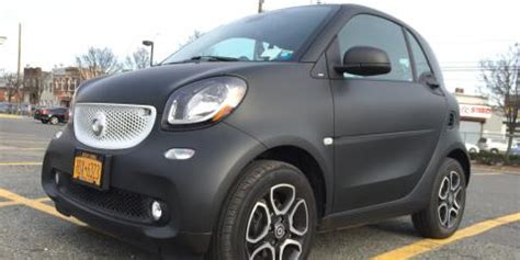 used smart car nyc smart car 4two wrap black matte coney island