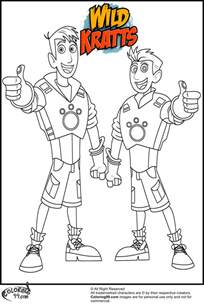 Kratt Brothers Coloring Pages martin kratt coloring pages