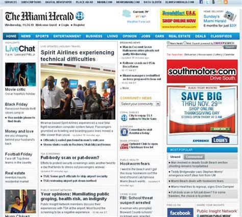 Home And Design Miami Herald S American Journalist And Publisher