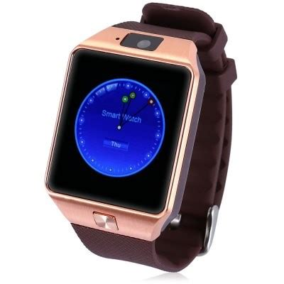 DZ09 Single SIM Smartwatch 1.56 inch Remote Control Phone Camera Rose Gold