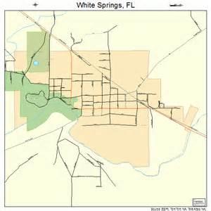 white springs florida map 1277400