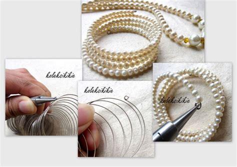 Rantai Tali Kacamata Rantai Kacamata Mutiara Import 2 membuat gelang spiral sederhana koleksikikie