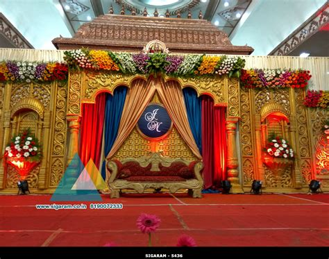 decorate pictures wedding stage decoration jayaram thirumana nilayam