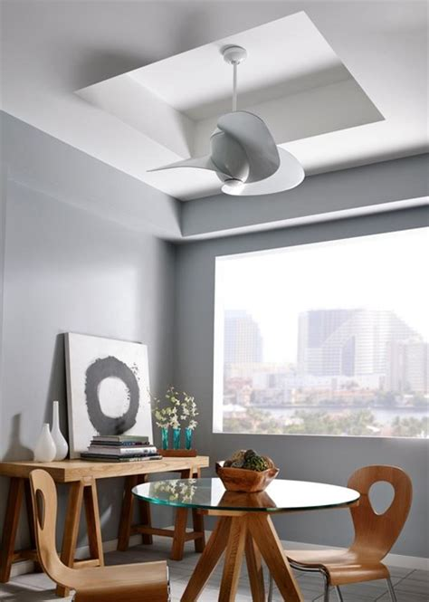Ceiling Fan Dining Room Cool Ceiling Fans Contemporary Dining Room By Valley Light Gallery
