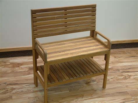 small teak bench unique small corner teak bench with backrest and hand