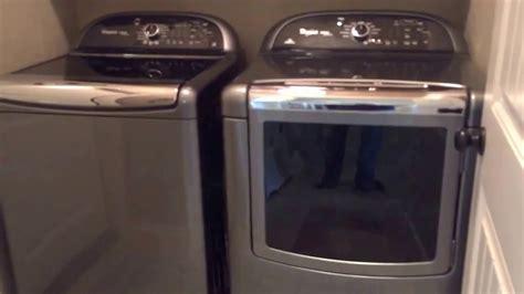 whirlpool cabrio platinum washer and dryer youtube