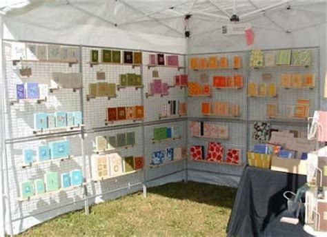 wire racks craft booth displays