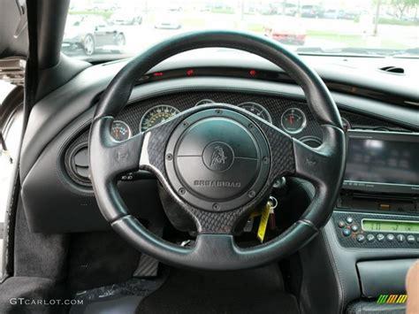 2001 lamborghini diablo 6 0 black steering wheel photo
