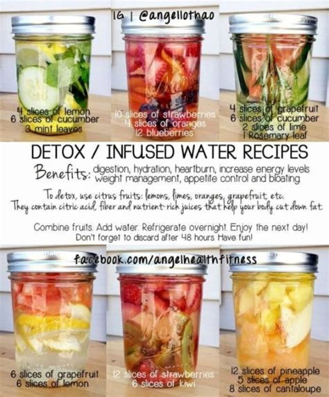 Detox Water Recipes With Pineapple by Detox Infused Water Recipes 1 Lemon Cucumber Mint 2