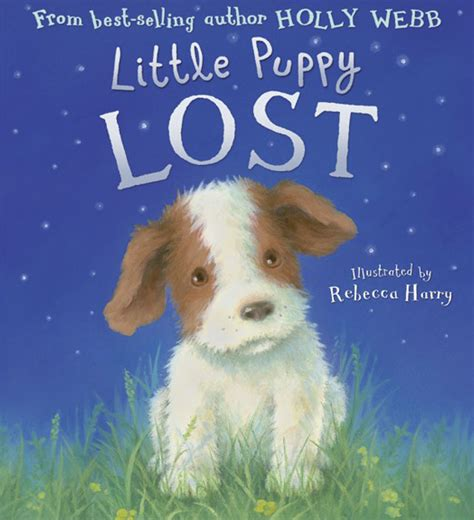 missing molly books puppy lost webb