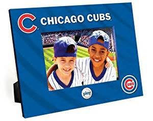 chicago cubs talking picture frame single