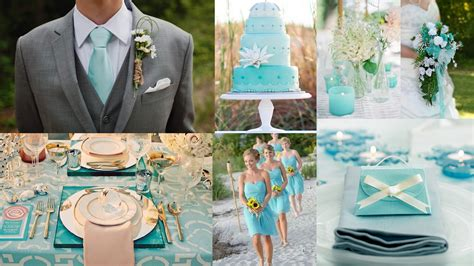 colour themes for beach wedding top 5 color theme for spring wedding