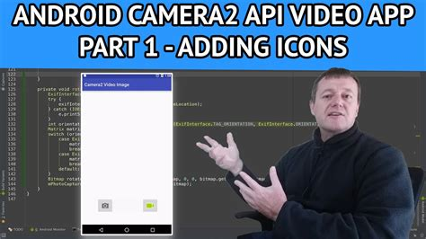 android studio camera2 tutorial android camera2 api video app part 1 how to add icons